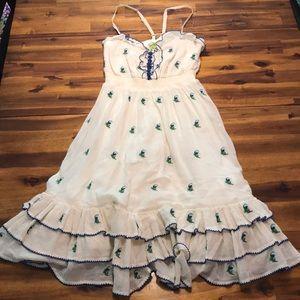 anthropologie floreat dress